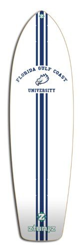 Best ZtuntZ Skateboards Florida Gulf Coast University Transporter Skateboard Deck, 8.25 x 30-Inch/17-Inch WB, Blue/White - http://ridgecrestreviews.com/best-ztuntz-skateboards-florida-gulf-coast-university-transporter-skateboard-deck-8-25-x-30-inch17-inch-wb-bluewhite/