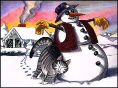 Художники увлекающиеся рисованием комиксов и карикатур, очень часто используют в качестве своих персонажей котов. В мировой живописи рисованных котов существует превеликое множество. Все они обладают обаянием и шармом. Подобные работы заставят улыбнуться абсолютно всех от мала до велика. Одни из…
