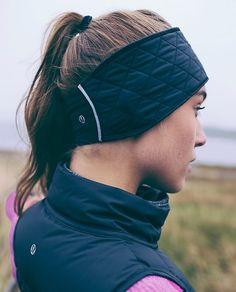Keeps us feeling juuust right when we're dashing through the snow | Fluff Off Run Earwarmer