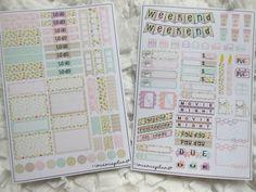 SD designs planner stickers volledige week kit €