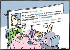 La adicción a las redes sociales... es una realidad