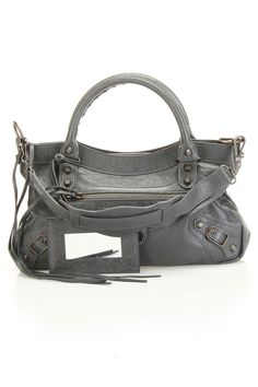 Balenciaga Classic First Handbag In Anthracite -