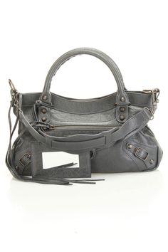 Balenciaga Classic First Handbag In Anthracite -