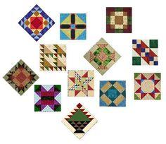 Make the Scrap Happy Sampler Quilt - Tutorials for all blocks to make a sampler quilt