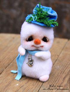 Купить Снеговичок Фрости. Резерв - белый, Новый Год, зима, снеговик, снеговичок, снеговик игрушка