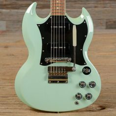 Gibson CS SG Special Mint Green 2001 (s681) | Chicago Music Exchange