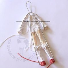 Example of amigurumi doll wire frame - picture only.