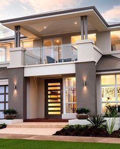 Modern House Design New Picture Modern House Design - Interior Home Design Ideas Modern Minimalist House, Modern House Design, Minimalist Design, House Front Wall Design, Modern House Facades, Exterior Design, Home Interior Design, Interior Modern, Exterior Colors