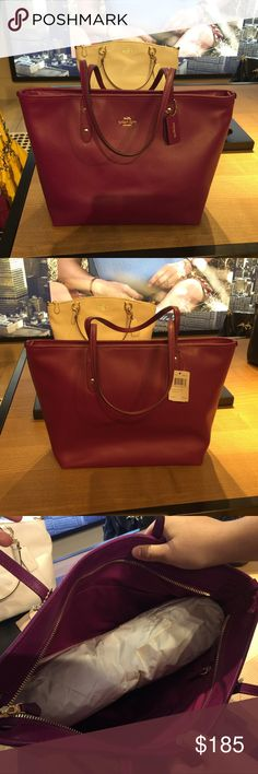 Coach Tote Bag Authentic Tote Bag Coach Bags Totes