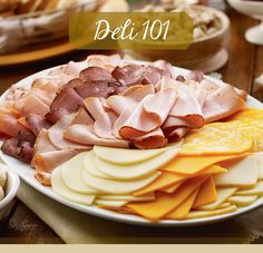 Building your own deli meat and cheese platter is easier than it looks, and doing it can easily save you money. #DIY