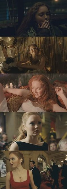 Lily Cole in Dr. Parnassus