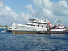 The day the Kittiwake went down in Grand Cayman
