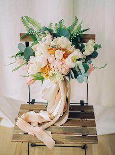Romantic Pink and Orange Spring Wedding Ideas | Columbus Fine Art Film Wedding Photographers | #columbusweddingphotographers #fineartphotography