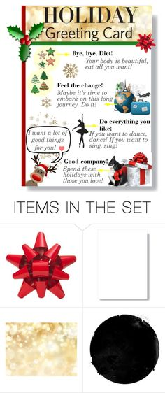 """""""Holiday Greeting Card!"""" by mypointofstyle on Polyvore featuring arte, holidaygreetingcard y PVStyleInsiders"""