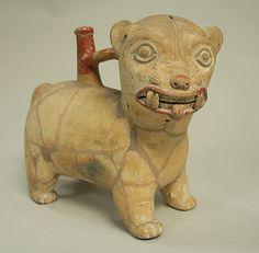 Spout and Bridge Vessel,Chorrera culture,Ecuador 9th-2nd century BCE