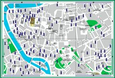 Nasoni Map in Rome | Wanted in Rome