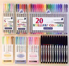 nice gel pens for writing
