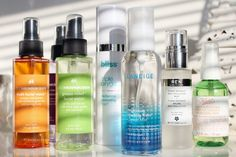 Some of the season's new and new-ish face mists to try