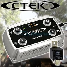 CTEK-D250S-DUAL-DC-TO-DC-BATTERY-CHARGER to charge the second battery