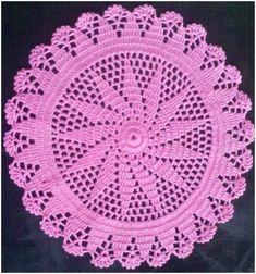 How To Crochet Doily – Tutoria