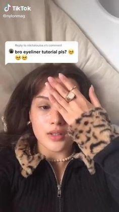 ¿Como se llama la canción? Indie Makeup, Edgy Makeup, Makeup Eye Looks, Eye Makeup Art, Cute Makeup, Pretty Makeup, Skin Makeup, Doll Eye Makeup, Glamour Makeup