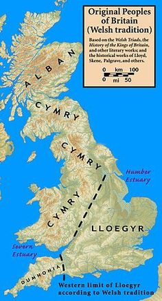 The Welsh name for England, Lloegyr