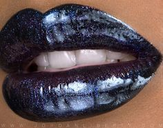 Lips color. This is a strong one. The    craved strength in looks shows this!   The color expresses so much IMO!!  Hopefully I will try this very soon. :D Jeans would complement this look!!