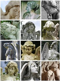 flickr favs :: stone angels by bailiwickdesigns, via Flickr
