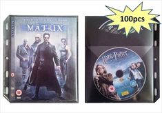 DVD FlatPak Sleeve (100 Pk) £25 - use binders to store away all DVDs!