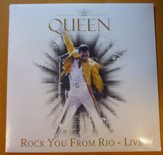 Online veilinghuis Catawiki: Queen - Rock You From Rio Live *LP*