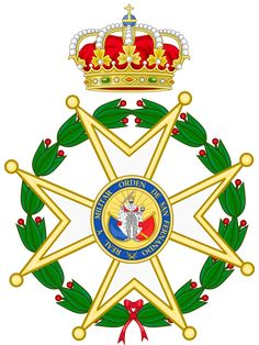 File:Insignia of the Royal and Military Order of Saint Ferdinand. Military Orders, Ferdinand, West Indies, Coat Of Arms, Saints, Christmas Ornaments, Holiday Decor, Pictures, San Fernando