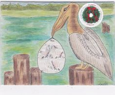 Mail art by TrinaLD of ATC's For All. Click to view original