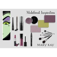 """""""Disney Inspired - Maleficent"""" by Mary Kay   Shop with me at http://www.marykay.com/courtneyharris93521"""