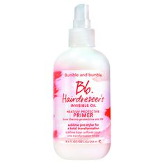 Hairdresser's Invisible Oil - Base Thermo-Protectrice Anti UV di Bumble and bumble su Sephora.it
