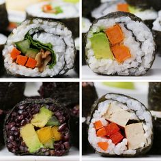 Make your favourite sushi rolls at house!Observe us ( for extra nutritious content material💚🍎.By Make your favourite sushi rolls at house!Observe us ( for extra nutritious content material💚🍎.By A photograph posted by Well being and Diet🏃♂️🥗 ( on Sweet Potato Tempura, Sushi Roll Recipes, Veggie Sushi Rolls, Sushi At Home, Teriyaki Tofu, West African Food, Thing 1, Rice Vinegar, Health And Nutrition