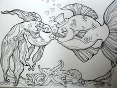 Mehndi Elephant Coloring Pages : Free japanese koi fish coloring pages for adult printables