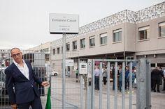 Inauguration Via Ermanno Casoli  10 september 2014