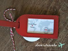 Wedding Favors  Love Travels Luggage Tag by lovetravelsfavors, $6.25