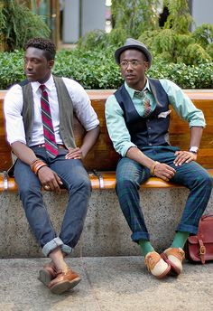street etiquette - wish i saw dudes dressed like this more often