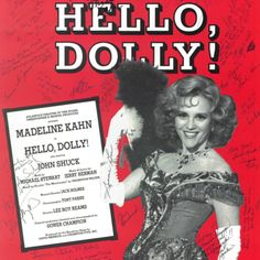 Madeline Kahn sings So Long, Dearie from Hello, Dolly! Madeline Kahn, Young Frankenstein, I Adore You, Hello Dolly, Interesting Faces, Houston, Theatre, Singing, Gifs