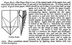 飛行機発明前の紙飛行機の呼び方