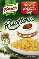 Risparmi €0,50 sconto immediato per l'acquisto di una confezione di Risotteria Knorr alla Milanese.