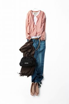 Casual and comfortable. Fashion Mode, Japan Fashion, Look Fashion, Daily Fashion, Autumn Fashion, Fashion Outfits, Womens Fashion, Looks Style, Style Me