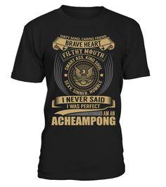 ACHEAMPONG - I Nerver Said