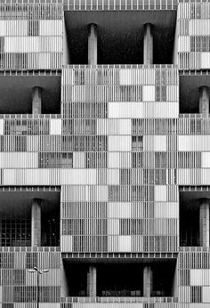 The Petrobras Headquarters in Rio de Janeiro, a Brutalist building by Roberto Luis Gandolfi.