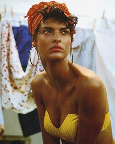 Linda Evangelista for Vogue Italia 1989 shot by Steven Meisel