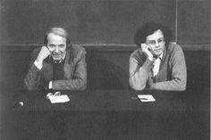 Deleuze and Guattari refers to Gilles Deleuze and Félix Guattari, two French philosophers who wrote a number of works together. Deleuze and Guattari (power couple)