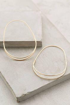 Beautiful hoops earrings