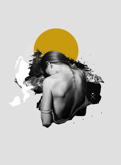 Curso de collage de domestika Voyager on Behance