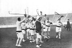 Lacrosse photo from 1908 Olympics